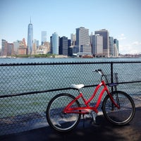 Photo taken at Governors Island by Alissa F. on 7/30/2014
