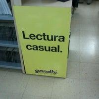 Photo taken at Libreria Gandhi by Alina J. on 12/9/2012