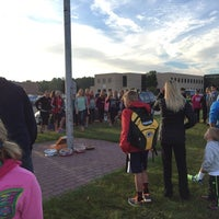 Photo taken at Pewaukee High School by Anthony S. on 9/24/2014