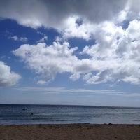Photo taken at Playa Punta Arenas by Claudia A. on 12/30/2013