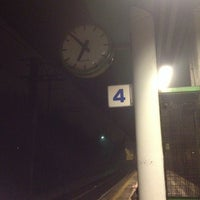 Photo taken at Stazione Caronno Pertusella by Gianluca C. on 1/13/2014