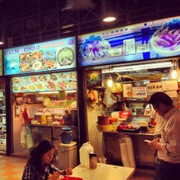 Photo taken at Newton Circus Food Centre by dixson l. on 6/12/2013