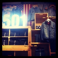 Photo taken at Levi's Store by Hide T. on 2/10/2013