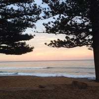 Photo taken at Avalon Beach by Julie V. on 8/13/2015