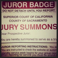 Photo taken at Gordon D. Schaber Sacramento County Courthouse by Stacy R. on 6/18/2013