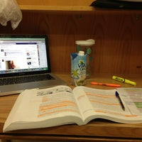 Photo taken at Strozier Library by Emily S. on 11/19/2012