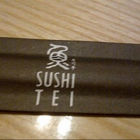Photo taken at Sushi Tei by Dhea A. on 11/3/2012