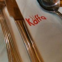 Photo taken at Kaffa Kafe by Mireille E. on 2/7/2013