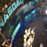 Photo taken at Nasdaq Marketsite by Liz P. on 10/5/2012