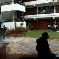 Photo taken at Facultad de Ciencias de la Comunicación UAP by Carlos B. on 10/26/2012
