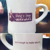 Photo taken at How's Your Onion? by Megan G. on 3/5/2016
