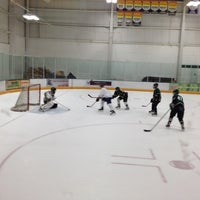 Photo taken at Ice Centre at the Promenade by Randy J. on 10/25/2012