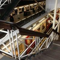 Photo taken at Aldgate London Underground Station by Chris B. on 5/9/2013