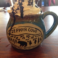 Photo taken at Zephyr Cove Restaurant by Ramona on 12/14/2013
