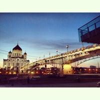 Photo taken at Patriarshiy Bridge by Lerooon on 5/11/2013