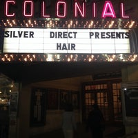 Photo taken at The Colonial Theatre by Brian C. on 1/30/2014