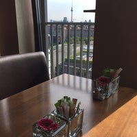 Photo taken at Executive Lounge   Marriott Hotel Berlin by sv H. on 7/24/2015