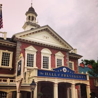Photo taken at The Hall Of Presidents by John I. on 4/13/2013