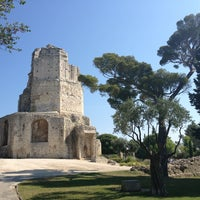 Photo taken at Tour Magne by www.laterna-magica.fr on 7/11/2013