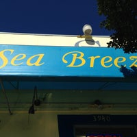 Photo taken at Sea Breeze Cafe by Blake B. on 2/9/2013