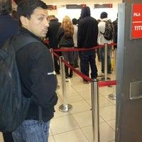 Photo taken at Banco Santander by Paloma M. on 9/14/2012
