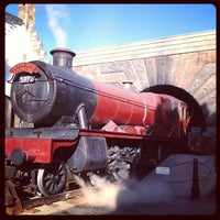 Photo taken at The Wizarding World Of Harry Potter - Hogsmeade by Christopher J. on 3/10/2013