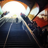 Photo taken at North Hollywood Metro Station by Chase P. on 3/26/2013