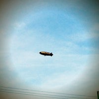 Photo taken at Goodyear Blimp by Nic A. on 1/13/2013