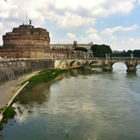 Photo taken at Giardini di Castel Sant'Angelo by Roman P. on 7/24/2013
