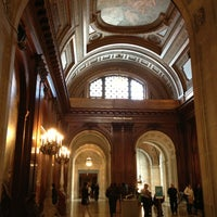 Photo taken at New York Public Library - Wertheim Study by Maria K. on 3/15/2013