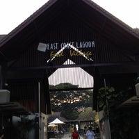Photo taken at East Coast Lagoon Food Village by Princess S. on 11/1/2012