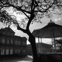 Photo taken at Alameda Arquitecto Sesmeros by Mário O. on 1/3/2014