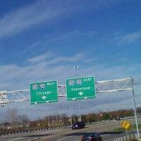 Photo taken at Megabus Stop by Amy J. on 10/28/2012