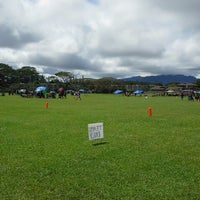 Photo taken at 16 Acres (Makaunulau Park) by Leonard K. on 3/9/2014