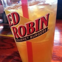 Photo taken at Red Robin Gourmet Burgers by Jason T. on 3/15/2013
