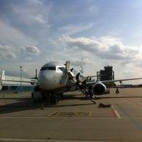 Photo taken at Frankfurt-Hahn Airport (HHN) by Ben B. on 4/18/2013