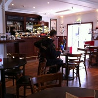 Photo taken at The Cafè At Craven Cottage by George R. on 4/12/2013