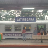 Photo taken at Stasiun Jatinegara by Mohanash F. on 5/26/2013