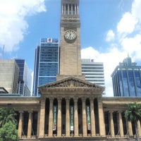 Photo taken at Brisbane City Hall by Dmytro O. on 1/23/2013
