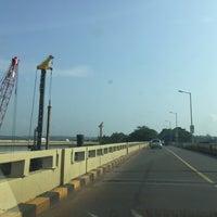 Photo taken at Mandovi Bridge by Это Я. on 10/10/2015