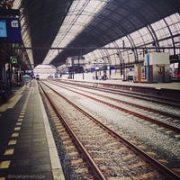Photo taken at Amsterdam Centraal Railway Station by marianne h. on 5/27/2013