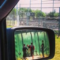 Photo taken at Rio Linda HS Batting Cage by Chris T. on 4/20/2013