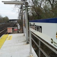Photo taken at Metro North - Woodlawn Train Station by Pablo M. on 11/10/2012