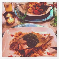 Photo taken at VeintiCinco Restaurant by Demian B. on 5/11/2013