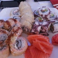 Photo taken at Niu Sushi by Adolfo H. on 10/5/2012