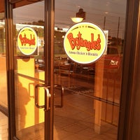 Photo taken at Bojangles' Famous Chicken 'n Biscuits by Ashley on 5/17/2013