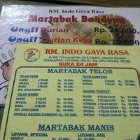 Photo taken at RM. Indo Gaya Rasa by dewa agung s. on 10/2/2013