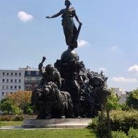 Photo taken at Place de la Nation by Ivan D. on 5/27/2013