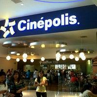 Photo taken at Cinépolis by Ivis J. on 10/7/2012