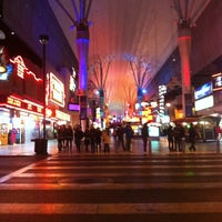 Photo taken at Fremont Street Experience by Michelle K. on 1/13/2013